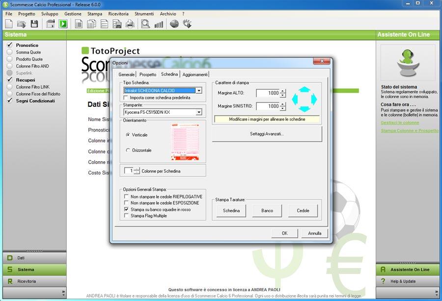 Download software scommesse calcio gratis